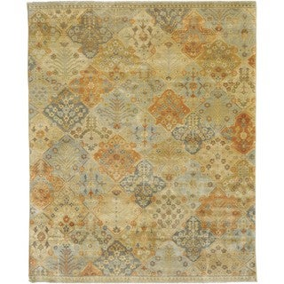 Hand Knotted Garvey New Zealand Wool Rug (9' x 12')