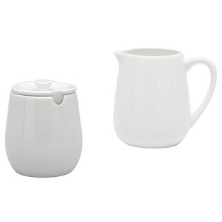 Pure Vanilla Creamer and Sugar Bowl Set