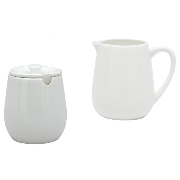 Pure Vanilla Creamer and Sugar Bowl Set
