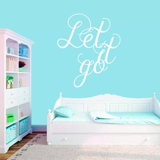 Let It Go Wall Decal (36 x 42)