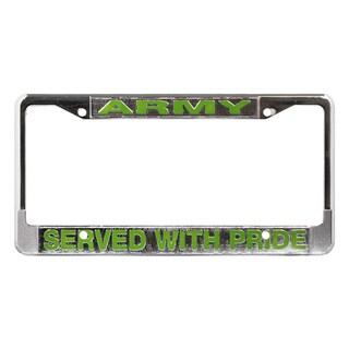 US Army Veteran License Plate Frame