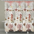Ornate Ocean Life Shower Curtain