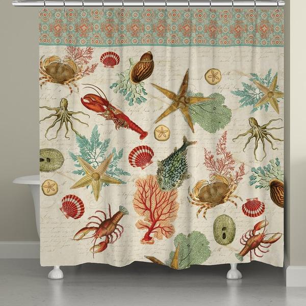Ocean Beauty Shower Curtain 17229360