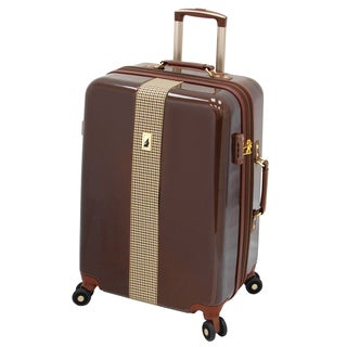 London Fog Cambridge 25-inch Expandable Hardside Spinner Upright Suitcase