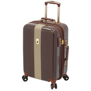 London Fog Cambridge 21-inch Expandable Carry On Hardside Spinner Suitcase