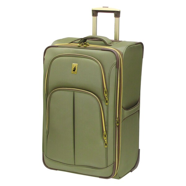 London Fog Coventry Collection 26-inch Expandable Rolling Upright Suitcase