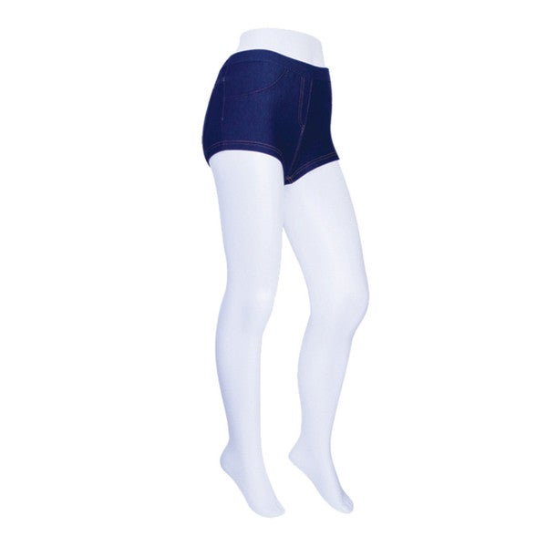 Memoi Women's Denim Cheeky Shorts