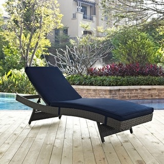 Modway Summon Rattan Outdoor Patio Chaise