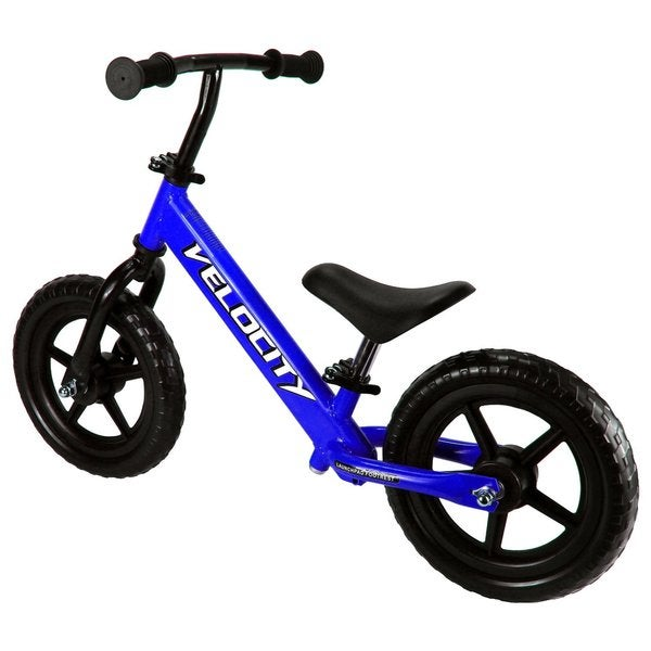 Velocity Bikes No Pedal Children's Kid's Toy Balance Bike