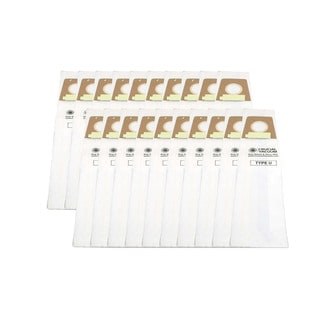 20 Dirt Devil Style U Allergen Bags Part # 3920750001 300027064