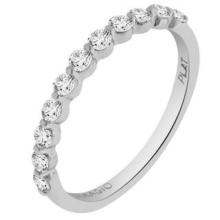 Verragio Platinum 3/8ct TDW Diamond Designer Wedding Band (F-G, VS1-VS2)