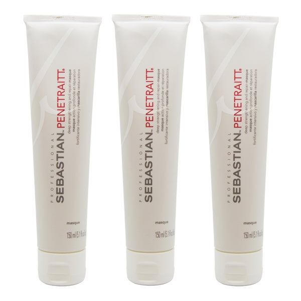 Sebastian Penetraitt Deep Strengthening and Repair-Masque (Pack of 3)
