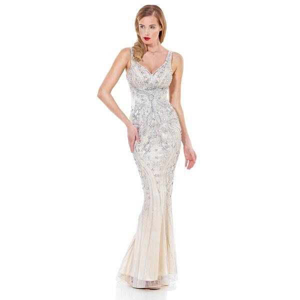 Crystal Embellished Wedding Dress