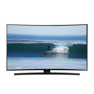 Reconditioned Samsung Curved 55-inch 4K 2160P 120Hz Ultra HD Smart LED TV with WIFI-UN55JU670D