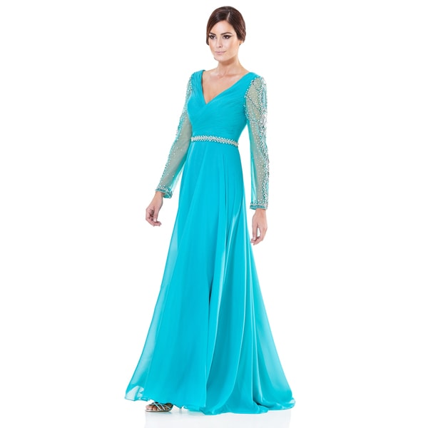 Terani Couture Chiffon Mother of the Bride Gown 17233784