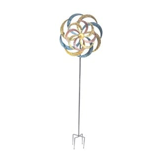 Sunjoy Kinetic Wind Catcher Garden Stake