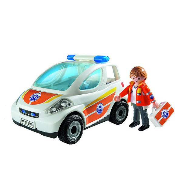 Playmobil Emergency Vehicle Building Kit 17234128