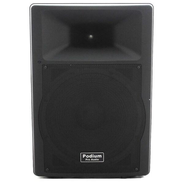 Podium Pro Audio PP1507A Bluetooth 900W PA DJ 15-inch Active Speaker USB SD MP3