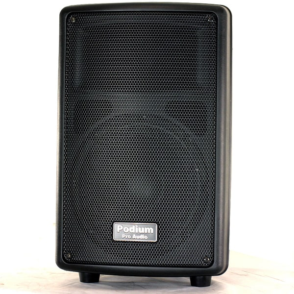Podium Pro PP802A Karaoke PA DJ Band 8-inch Powered Active 400-watt Speaker