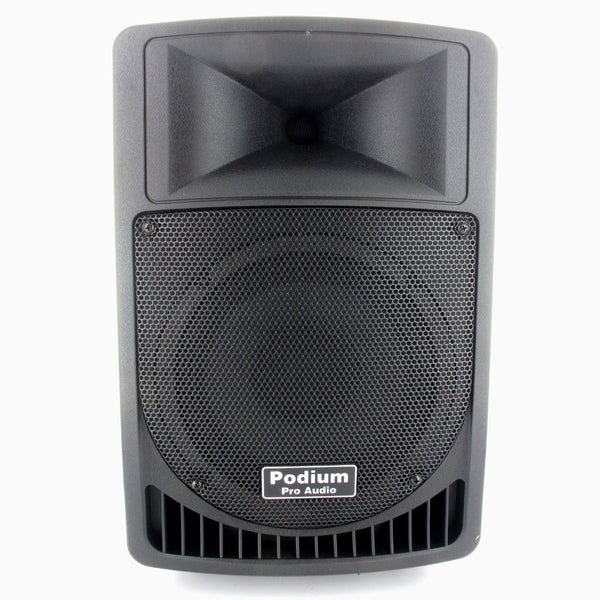 Podium Pro PP806A Battery Powered 8-inch Active Speaker with USB SD MP3 Player 400-watt