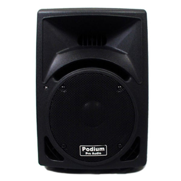 Podium Pro PP810 PA DJ Karaoke 250-watt Two-way ABS Plastic Speaker