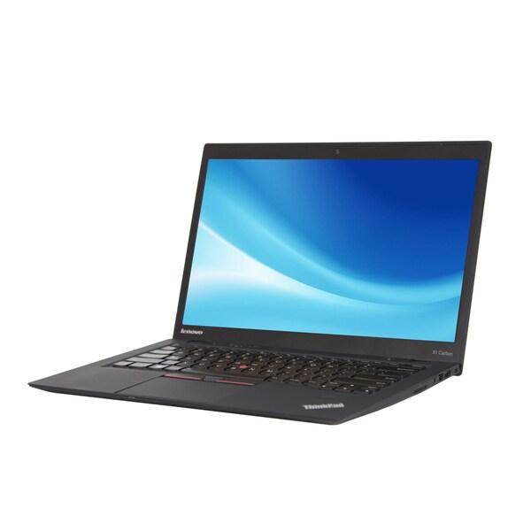 Lenovo ThinkPad X1 Carbon 14-inch display 2.0GHz Intel Core i7 CPU 8GB RAM 128GB SSD Windows 7 Laptop (Refurbished)