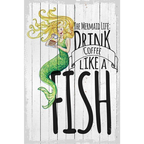 Marmont Hill The Mermaid Life Painting Print On Canvas