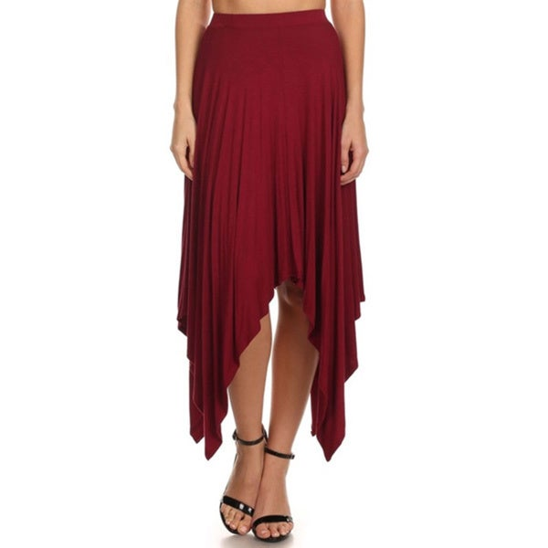 Women's High Waist Relaxed Skirt