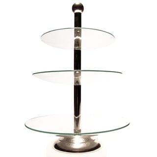 Elegance 3-Tier Glass Tray