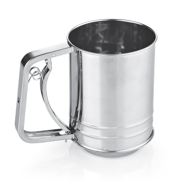 Cook N Home 3-Cup Stainless Steel Flour Sifter 17240745