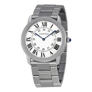Cartier Women's W6701005 Ronde Solo De Cartier Silver Watch