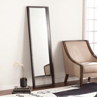 Upton Home Jasper Ebony Stain Leaning Mirror