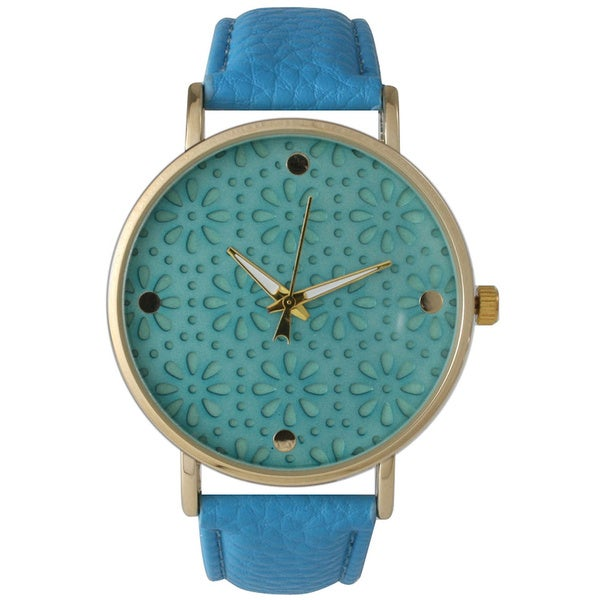 Olivia Pratt Laser Cut Flower Watch