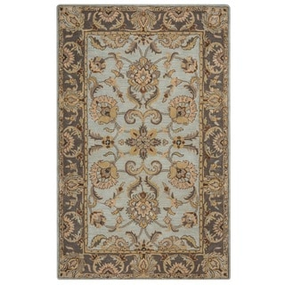 Rizzy Home Valintino Collection Multi-Colored Oriental Area Rug - 5 x 8