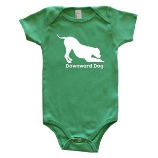 Rocket Bug Downward Dog Baby Bodysuit