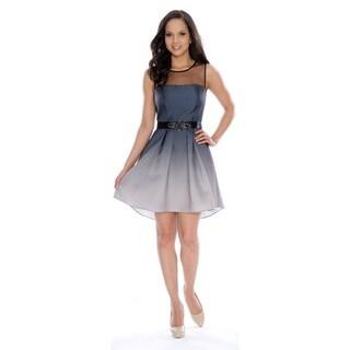 Decode 1.8 Women's Belted Ombre Dress
