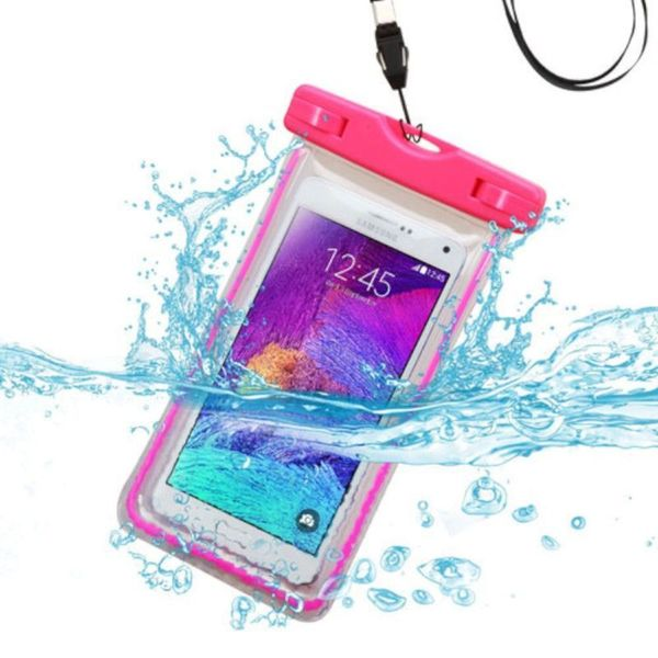 INSTEN Universal Waterproof Bag Case Cover with Lanyard