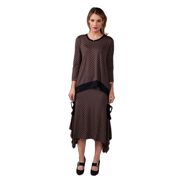Women's Polka-Dot Skirt
