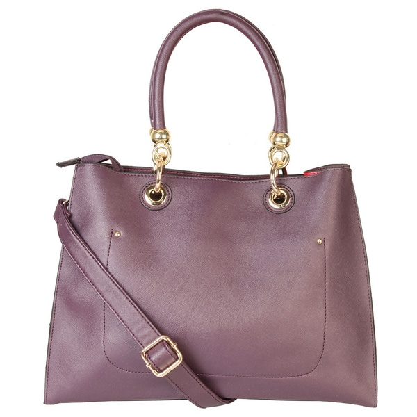 Rimen & Co. Dual Compartment Tote Handbag