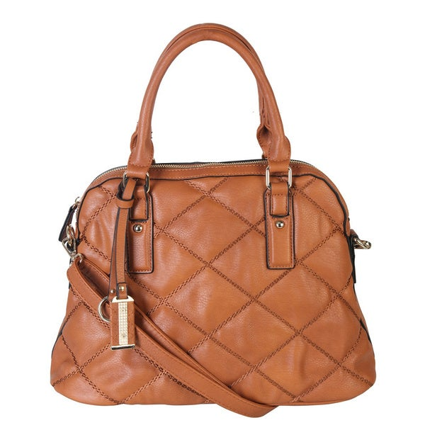 Diophy Quilted Shell Handbag