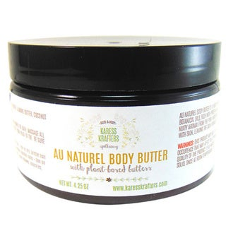 Au Naturel Natural Body Butter by Karess Krafters Apothecary