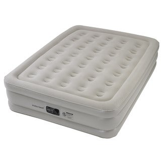 Instabed Queen-size Airbed with Internal AC Pump