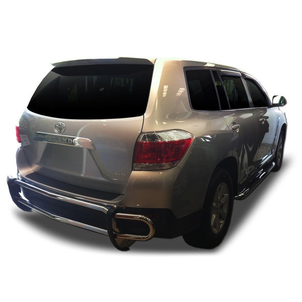 2008 - 2013 Toyota Highlander Stainless Steel Rear Double Pipe
