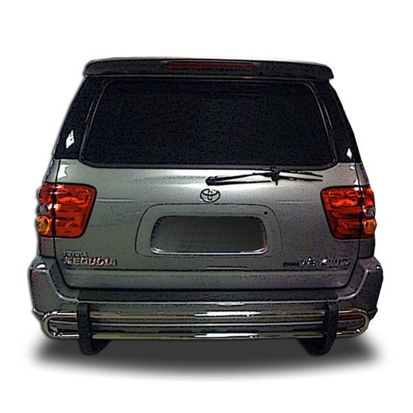 2001 - 2007 Toyota Sequoia Stainless Steel Rear Double Pipe