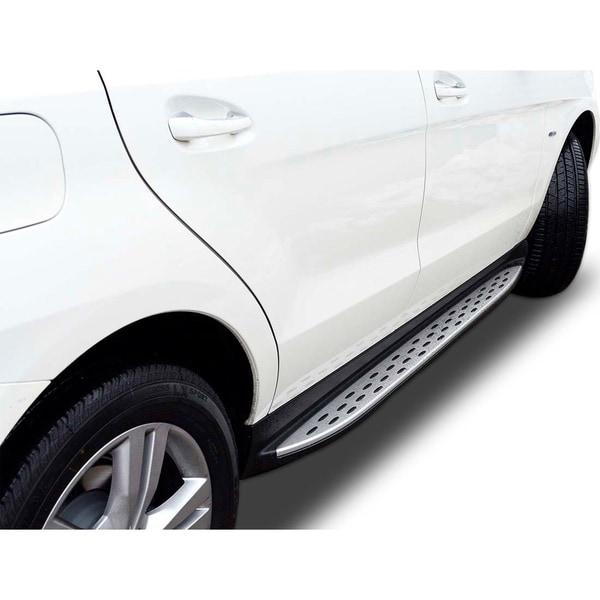 2016 - 2018 Mercedes GLE SUV Non-GLE Coupe Models Aluminium OEM Replica Style Running Board