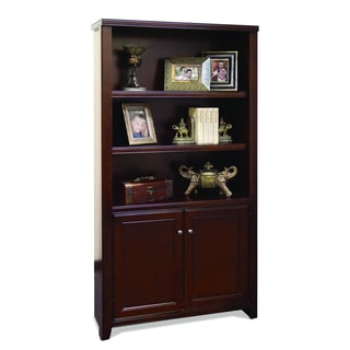 Tansley Landing Cherry Library Bookcase