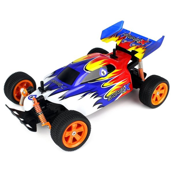 Velocity Toys Savage x Baja Buggy RC Buggy 1:16 Scale Size Off Road RTR, High Performance, 4 Wheel Suspension
