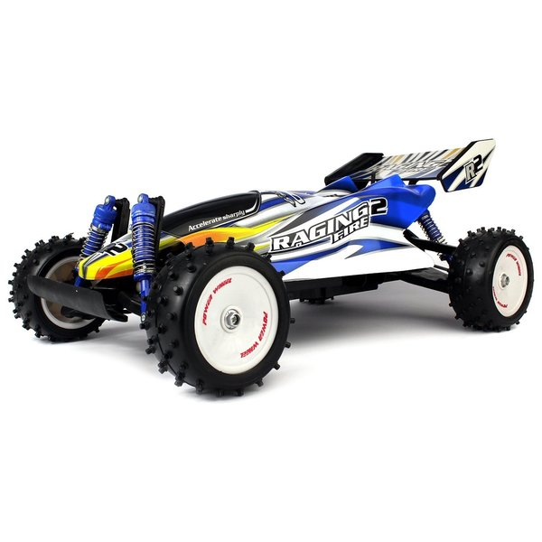 Velocity Toys VT Raging Fire Turbo RC Buggy Huge 1:8 Size Scale Off Road 18 MPH RTR, 4 Wheel Suspension