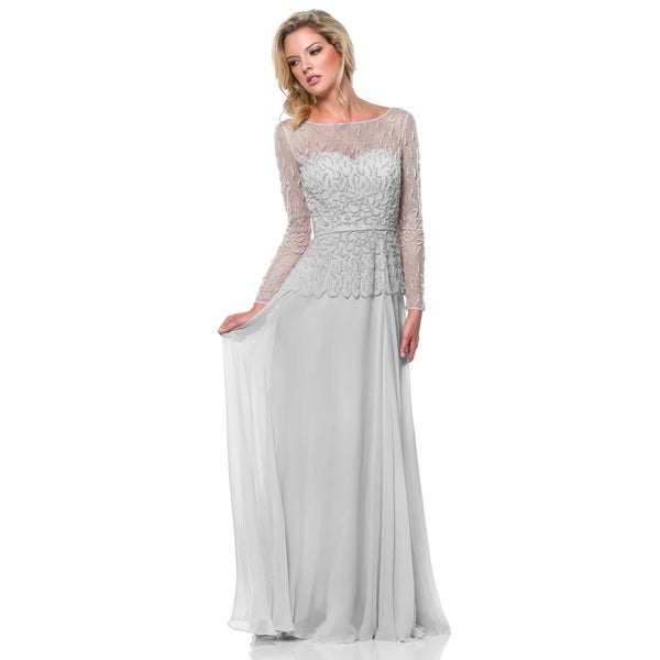 Terani Couture A-Line Mother of the Bride Dress