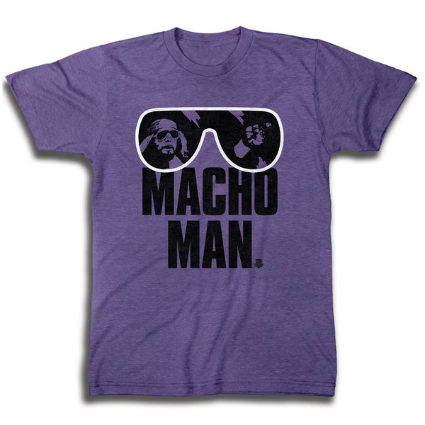 Macho Man Men's Graphic Short Sleeve T-Shirt